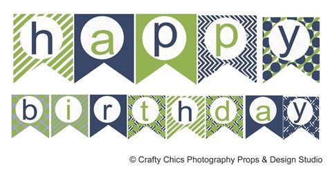 Free Printable Happy Birthday Banner Templates Best Business Template Birthday Banner Template