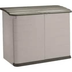 rubbermaid plastic horizontal outdoor storage shed 32