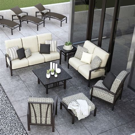 homecrest havenhill cushion 7 patio set hc