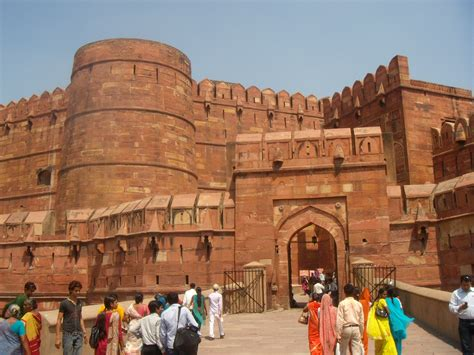 Agra Fort, Agra, India photo » My Travel Photo, Travel