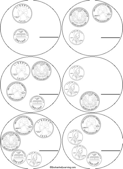 coloring pages money math how to draw british coins