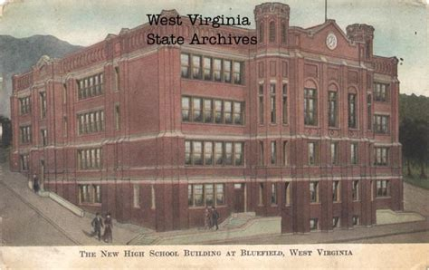 blue field books photographs of schools in west virginia mercer county