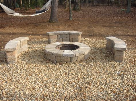 what rocks to use for pit gravel house pit ideas