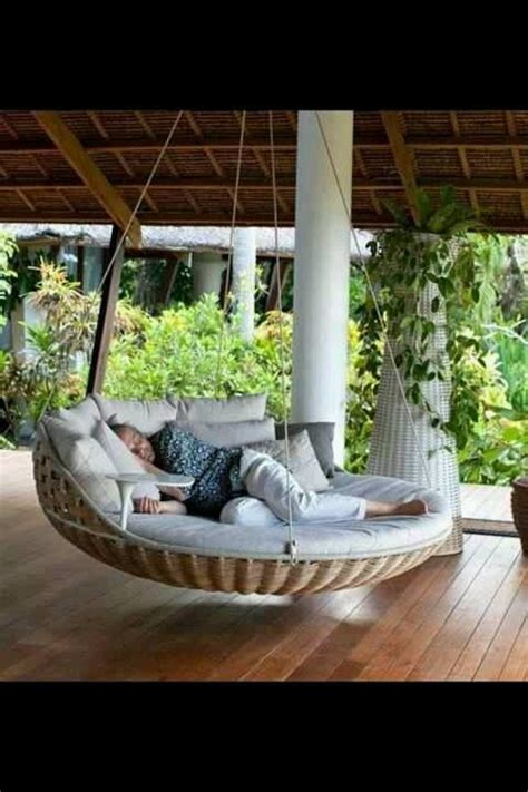 swing hammock bed outdoor swing bed love it better than a hammock my