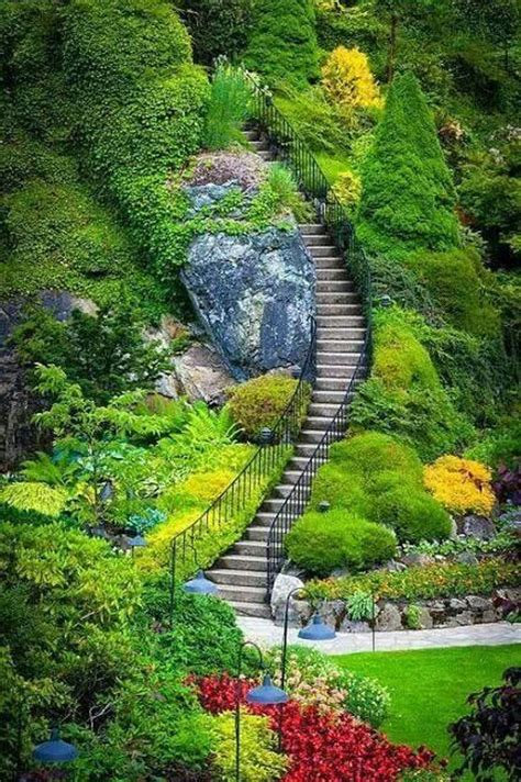 Vancouver Island Botanical Gardens Butchart Gardens Vancouver Island Places To Go Pinterest