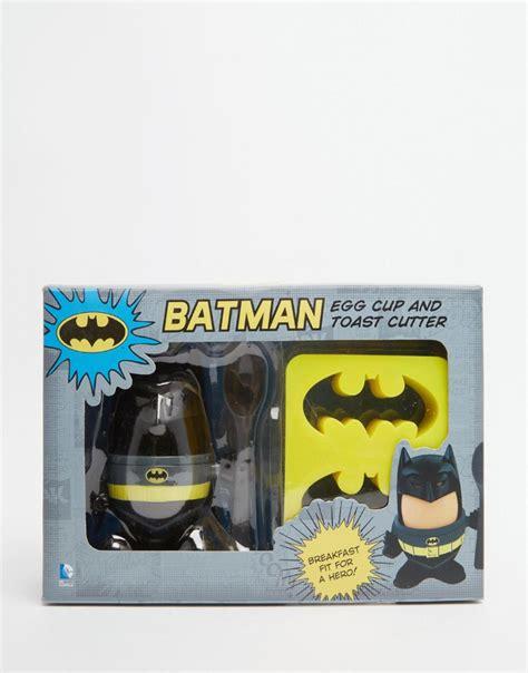 Batman Imprint Toaster gifts batman egg cup and toast cutter at asos