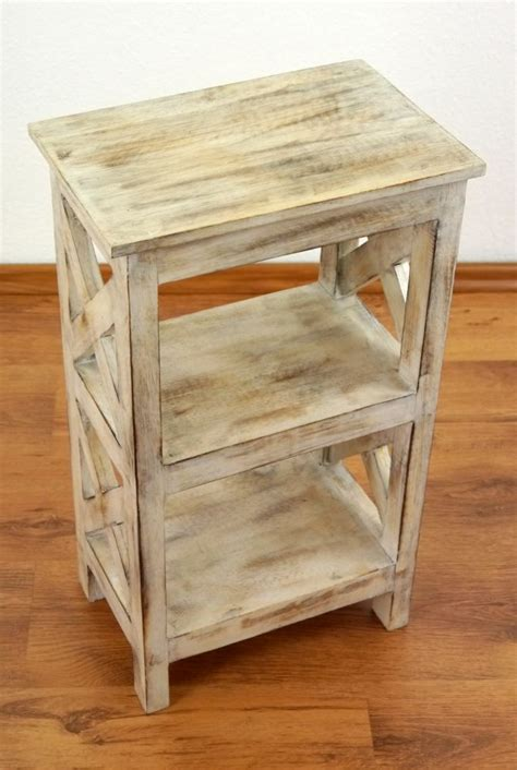 Handmade Bedside Tables - rustic bedside table handmade bali furniture indonesia