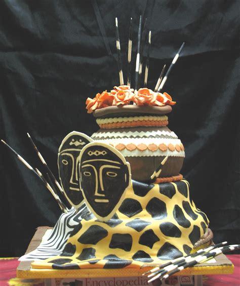 Sugarcraft by soni three tier wedding cake an african theme