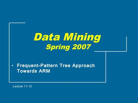 frequent pattern mining web log data frequent itemset mining using pattern growth method