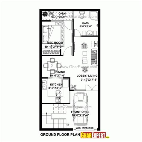 house design 15 30 feet fantastic house plan for 20 feet 40 feet plot plot size 89