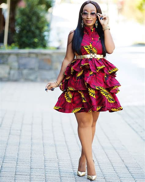 ankara new gown style checkout these assorted latest ankara trends from short