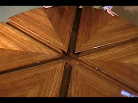 Dining Table Expandable Ilona Capstan Table Youtube