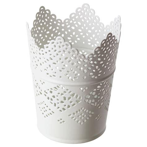 kerzenhalter vase skurar candle holder white 11 cm ikea
