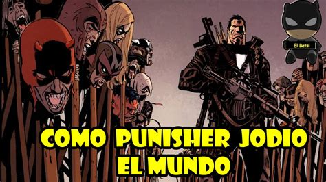 libro punisher vs the marvel punisher vs marvel universe el fin del mundo comic narrado youtube