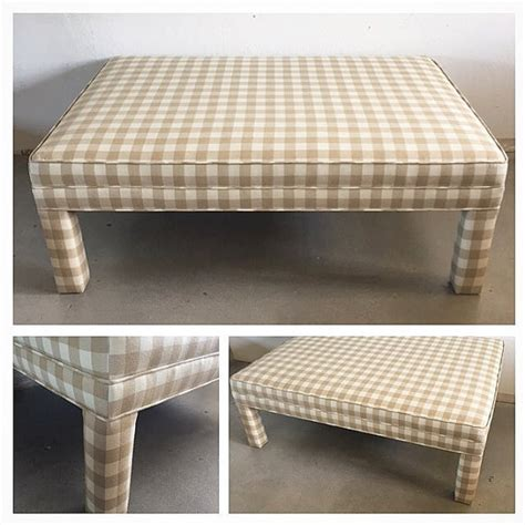ottoman style coffee tables large coffee table ottoman parson s style fully