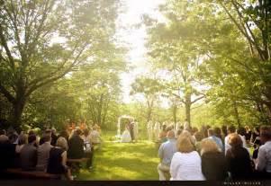 Sean stephanie married illinois chicago area outdoor wedding