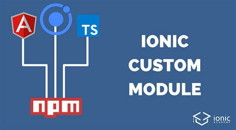ionic tutorial facebook how to publish a custom ionic module with npm devdactic