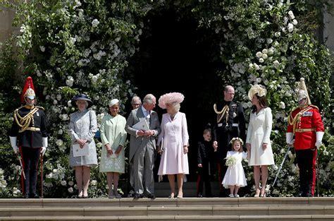 Doria Ragland's looks of love during the royal wedding