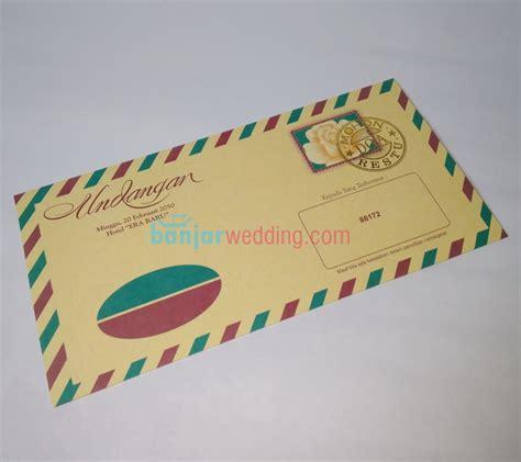 Undangan Soft Cover Latte 04 undangan bergaya surat eb88172 banjar wedding banjar wedding