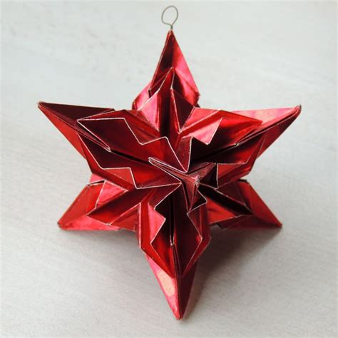 How To Make A Paper Ornament - ornament origami kiek s atelier