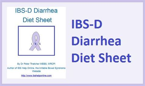 diarrhea diet 71 best irritable bowel images on