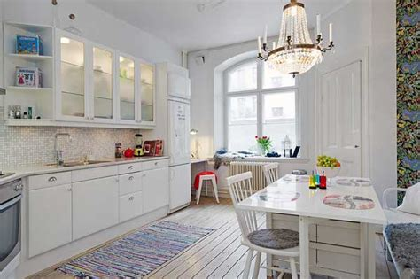 57 square meter condo use of details in interestingly shaped swedish apartment