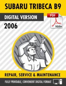 subaru  tribeca factory repair service manual