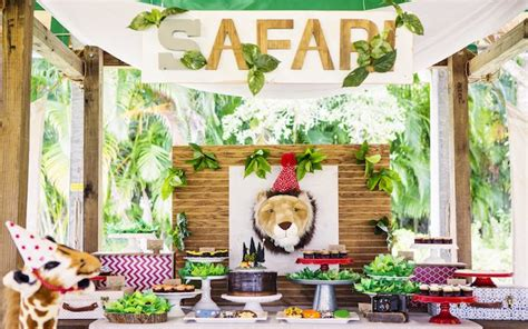 Baby Shower Safari Cake by Kara S Party Ideas African Inspired Safari Birthday Party
