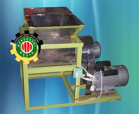 Mesin Perajang Rumput Laut mesin pengolahan rumput laut margosari mesin