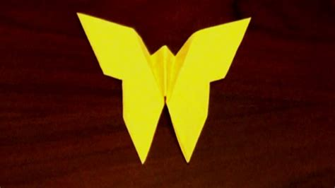 Origami Butterfly Simple - easy origami butterfly how to make an origami butterfly