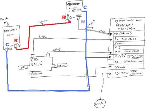 4 wire thermostat wiring diagram bryant heat wiring