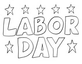 color day coloring pages of labor day coloring