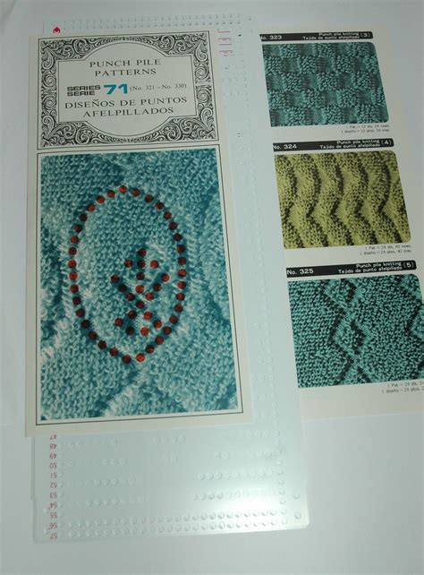 knitting patterns for knitting machines pre punched pattern card sets for knitting machine ribbers