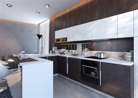 Kitchen Units Designs by Kitchens With Contrast
