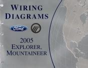 2005 Ford Explorer Amp Mercury Mountaineer Wiring Diagrams
