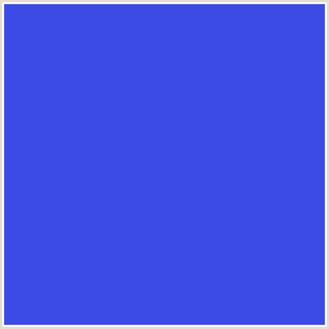 royal blue color 3c4be6 hex color rgb 60 75 230 blue royal blue