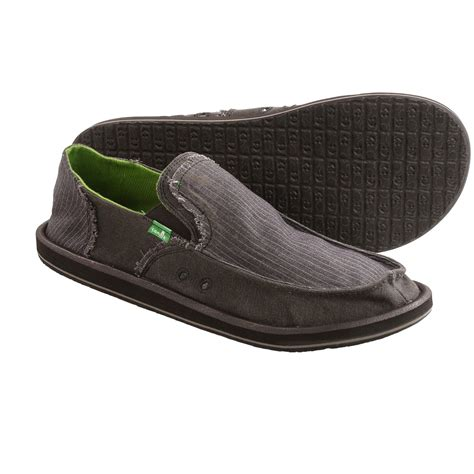 sanuk grifter canvas shoes slip ons for save 32