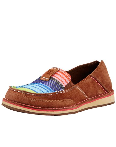 shoes for womens ariat s cruiser shoe palm brown serape