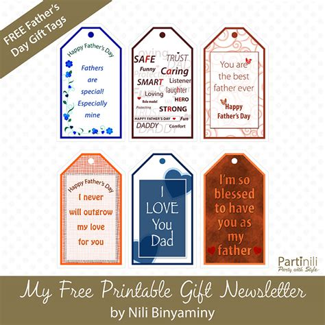 printable gift certificates for father s day printable gift tags