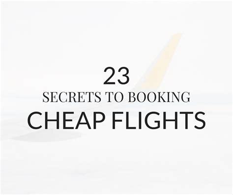 23 secrets to booking cheap flights mint notion