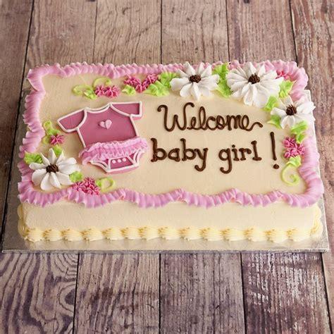 Baby Girl Cakes Ideas On Pinterest   Girl Shower Cake
