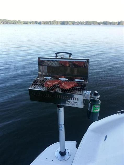 boat grill with mount grill mount recommendation boat talk chaparral boats