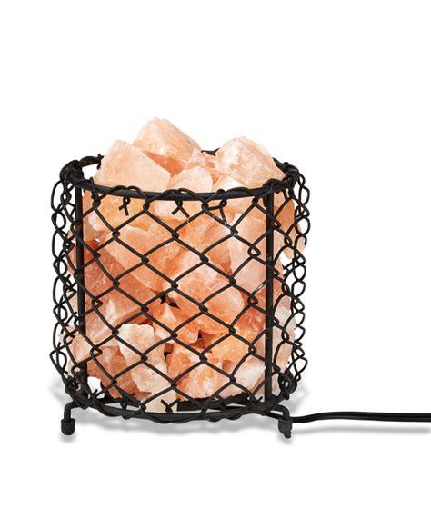 zennery himalayan salt l zennery himalayan salt wrought iron salt basket l