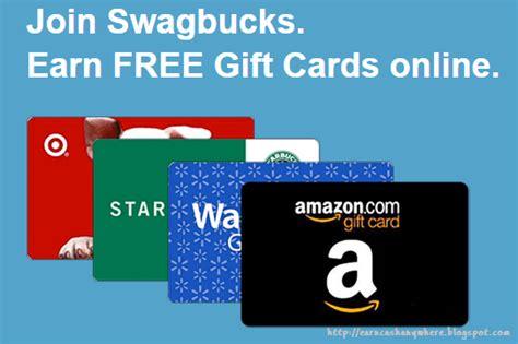 Earn Gift Cards By Taking Surveys - swagbucks earn free gift cards online earn money anywhere
