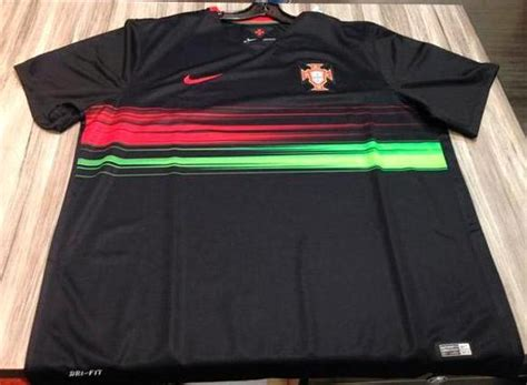 Jersey Portugal 3rd new portugal away shirt 2015 16 black portugal jersey