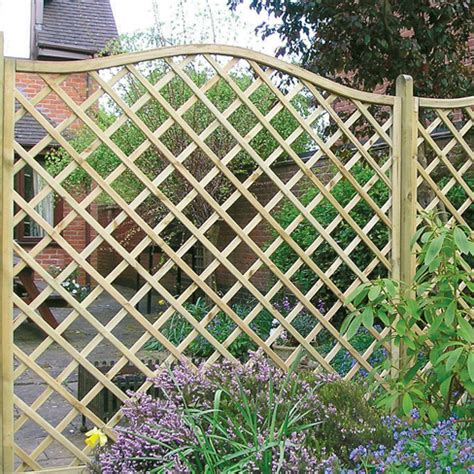 Garden Trellis Tops Regal Omega Top Trellis Gt Garden Panel Tate Fencing