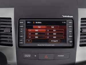 Mitsubishi Audio System Image 2012 Mitsubishi Outlander 4wd 4 Door Gt Audio