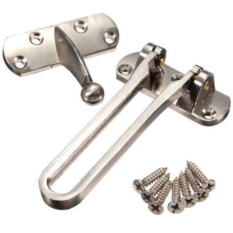 zinc alloy security window door guard restrictor lock latch safety chain catch alex nld