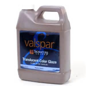 valspar translucent color glaze 1 quart of valspar signature colors translucent color