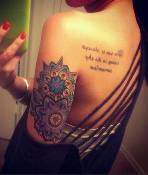 tattoo lakeland fl mandala flower colorful by dane atomic